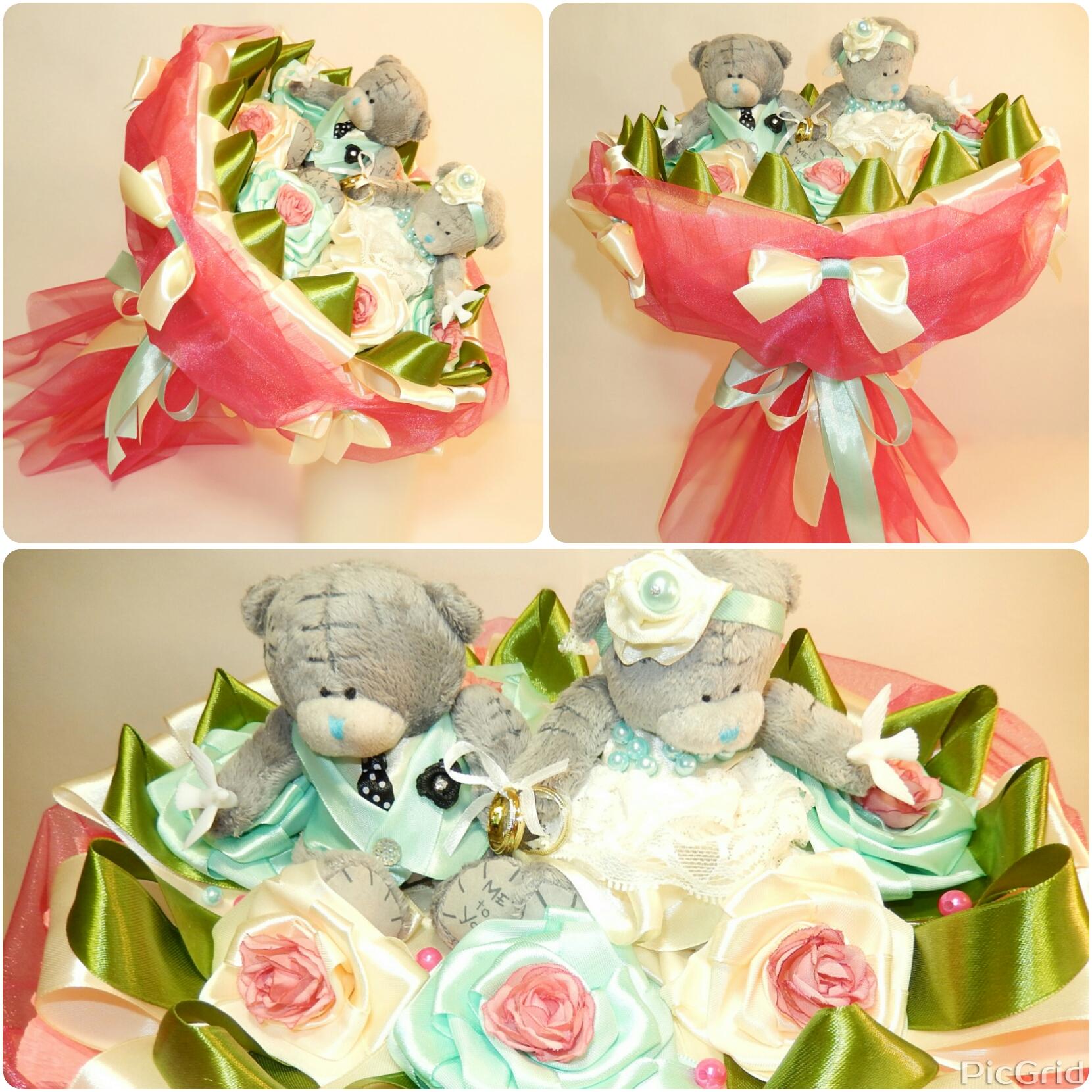 Букет подарить невесте из игрушек, цветы купить челябинск