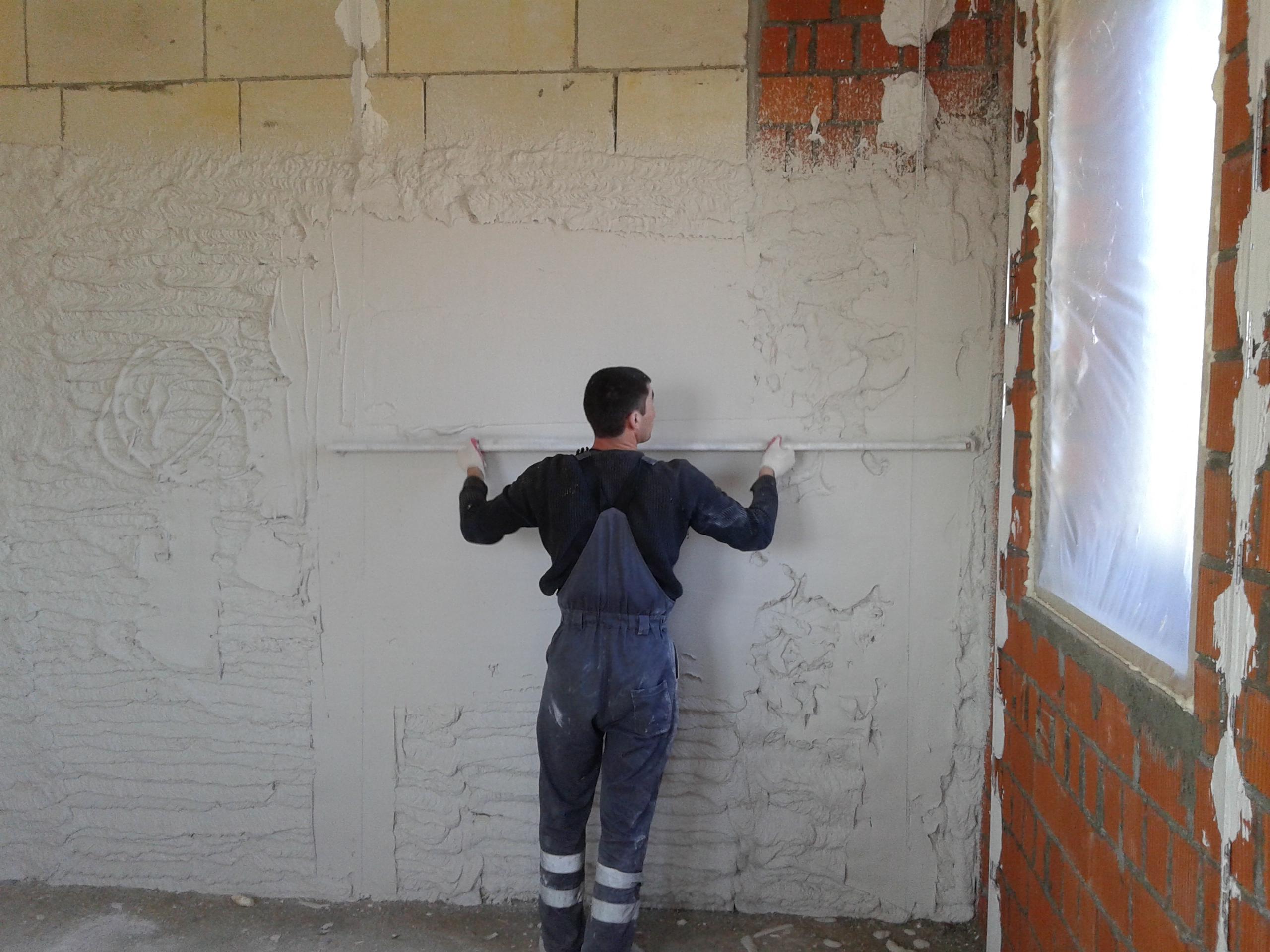 штукатурка внутренних стен цена за 1 м2