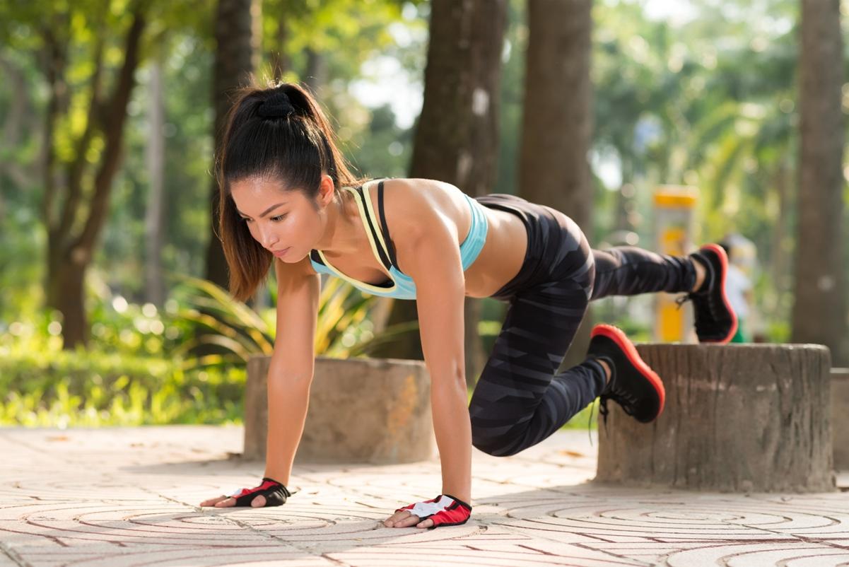чаще картинка фитнес на улице самый